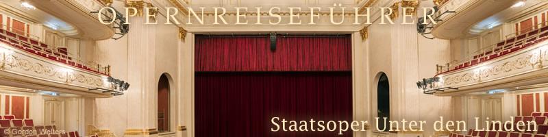 Berlin Staatsoper Unter Den Linden 20172018 Opernkarten Und